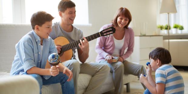 web3 family music guitar home de pressmaster i shutterstock