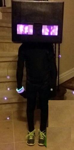Minecraft disfraz facil Halloween