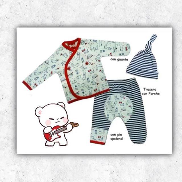 ajuares estampados para bebes Picolo baby verano 2021