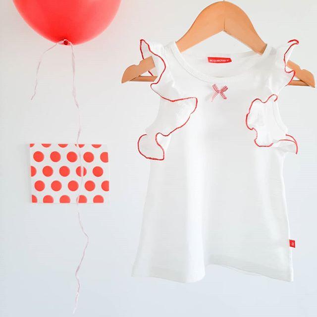 blusa blanca nina Acquachiare verano 2021