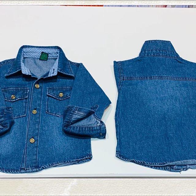 camisa jeans ninos Blueley verano 2021