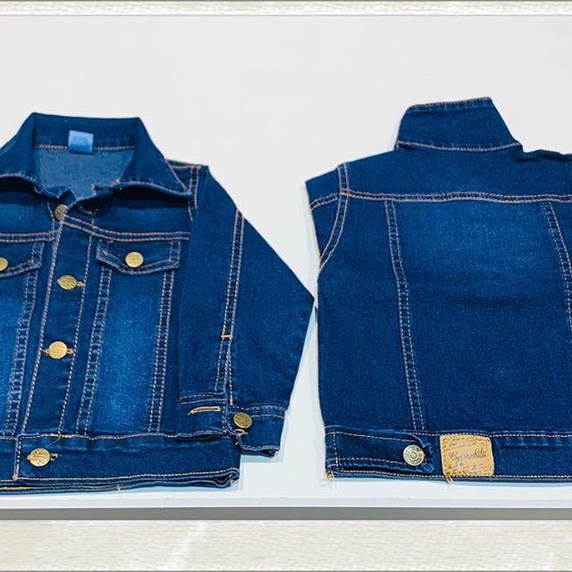 campera jeans ninos Blueley verano 2021