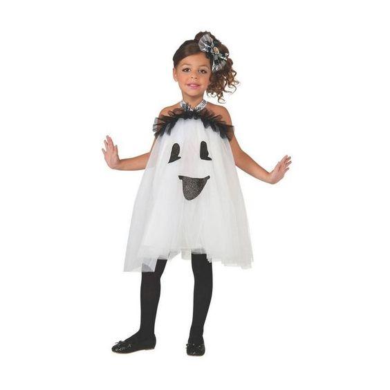 disfraz de fantasma para niñas