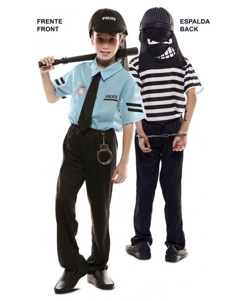 disfraz de ladron y policia