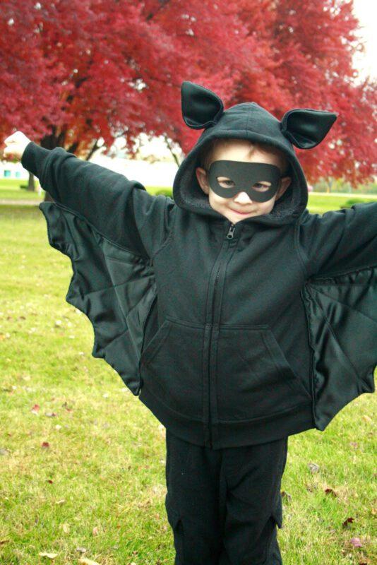 disfraz de murcielago casero niño