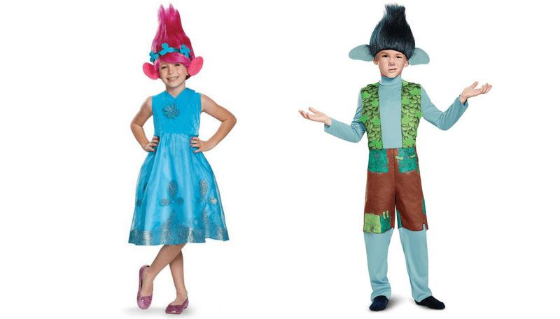 disfraz de troll para ninos hallowen