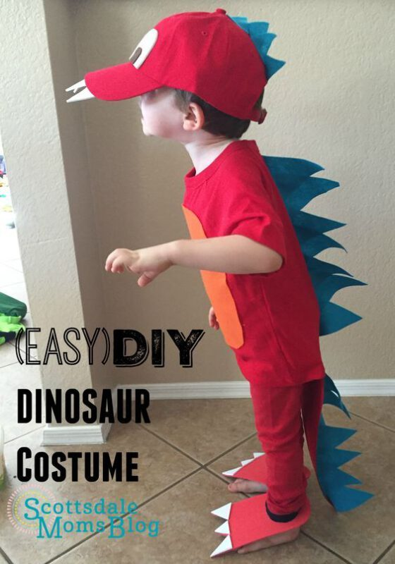 disfraz dinosaurio casero facil