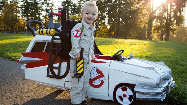 disfraz para niños Ghostbusters