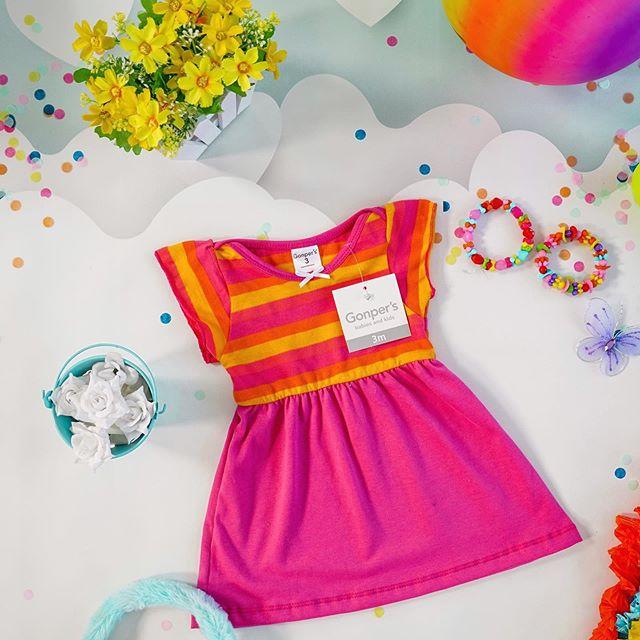 gonpers vestido nena verano 2021