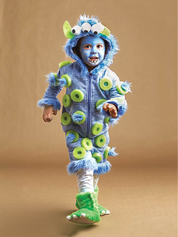halloween disfraz casero de moustruo