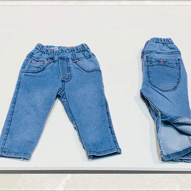 jeans bebes con botones Blueley verano 2021