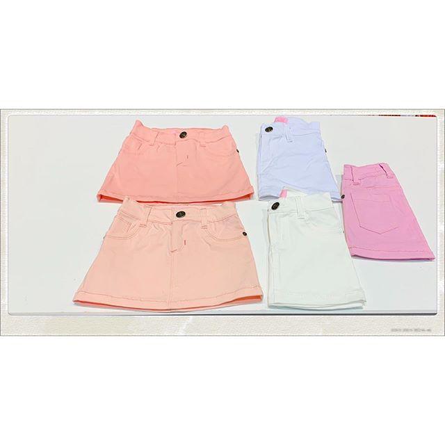 minifalda gabardina nina Blueley verano 2021