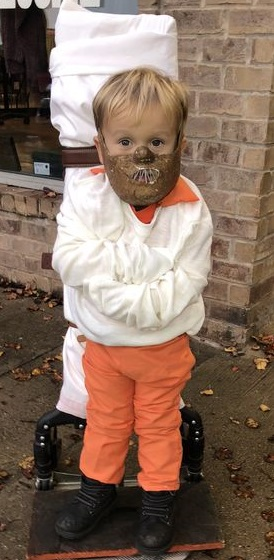 niño Hannibal disfraz