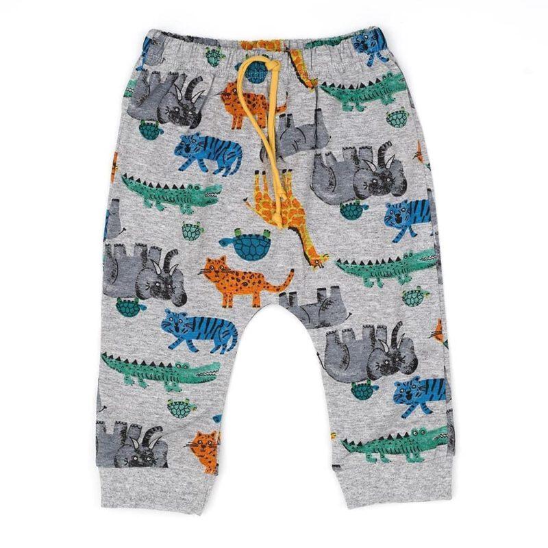 pantalon animales bebe gulubu verano 2021