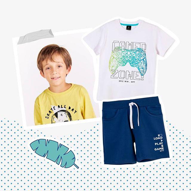 ropa para nenes gepetto verano 2021