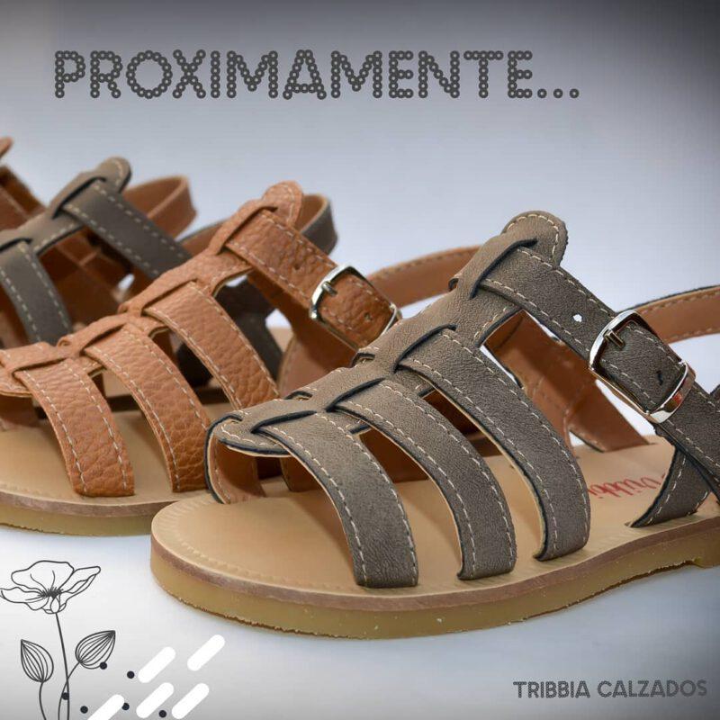 sandalias para niñas Tribbia calzados verano 2021