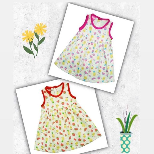 vestido algodon estampado beba Picolo baby verano 2021