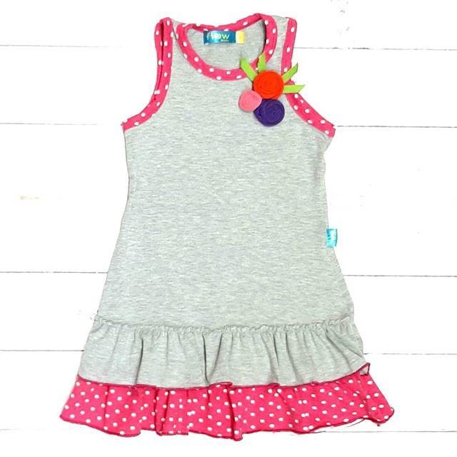 vestido algodon nenas flow kids verano 2021