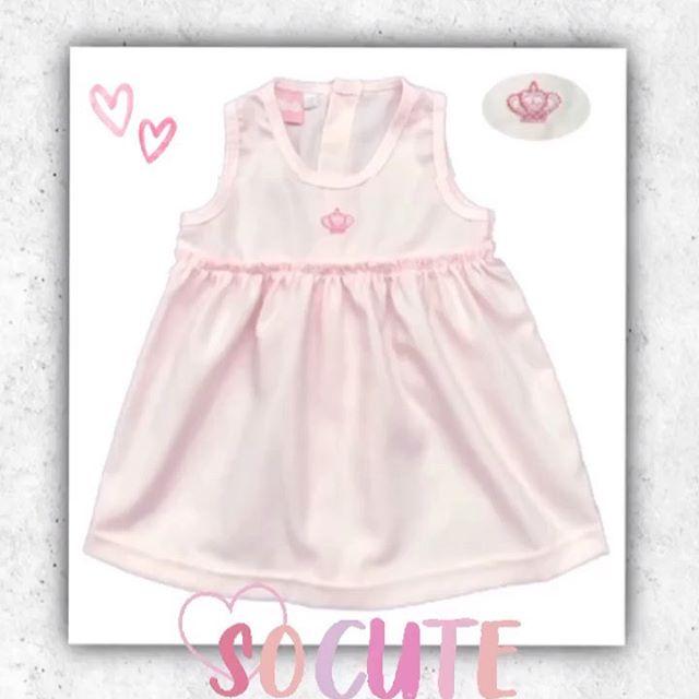 vestido rosa algodon beba picolo verano 2021