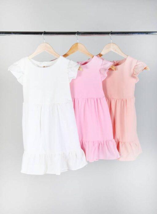 vestidos cortos urbanos nenas nucleo kids verano 2021