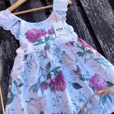breteles con puntilla algodon vestido Waw verano 2021
