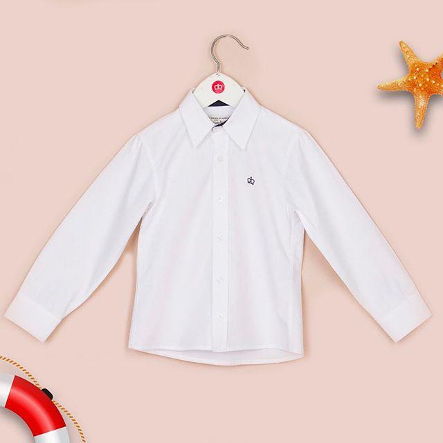 camisa blanca nino Paula Cahen D Anvers Ninos verano 2021