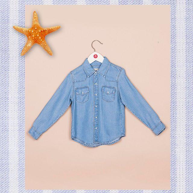 camisa jeans nino Paula Cahen D Anvers Ninos verano 2021
