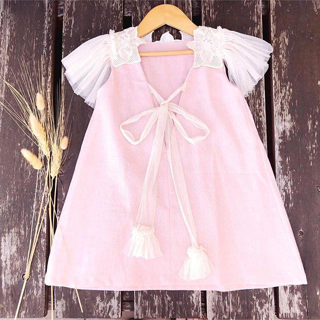 espalda de vestido para nina Waw verano 2021