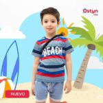 Remeras y short para niños y bebes Ostyn verano 2021