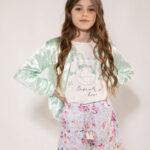 Look con short para niñas - Anavana verano 2021