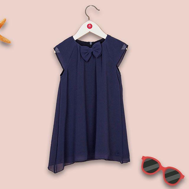 vestido azul nina Paula Cahen D Anvers Ninos verano 2021