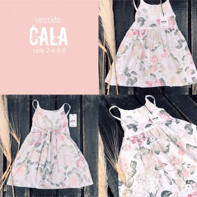 vestido estampado nina Waw verano 2021