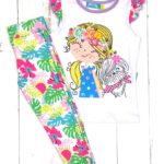 Flow Kids - Calzas estampadas para niñas verano 2021