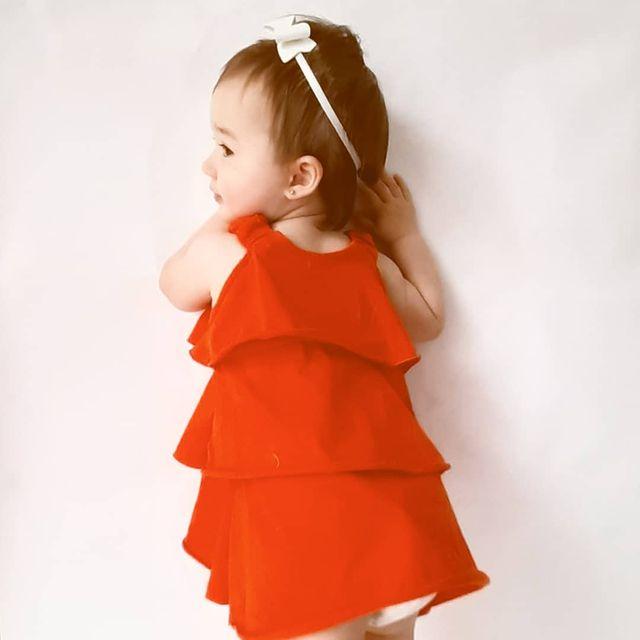 a croquer vestido rojo beba navidad 2020