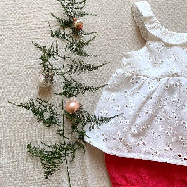 blusa y short beba Gro web navidad ano nuevo 2020