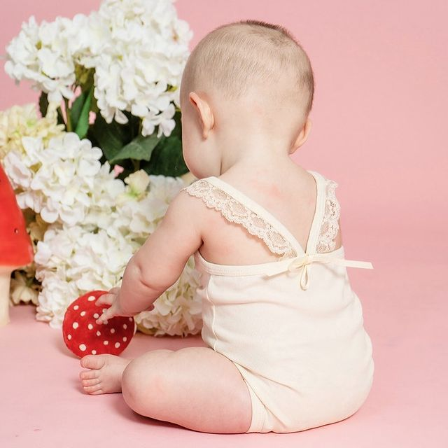 body con encaje bebe little akiabara ano nuevo 2020