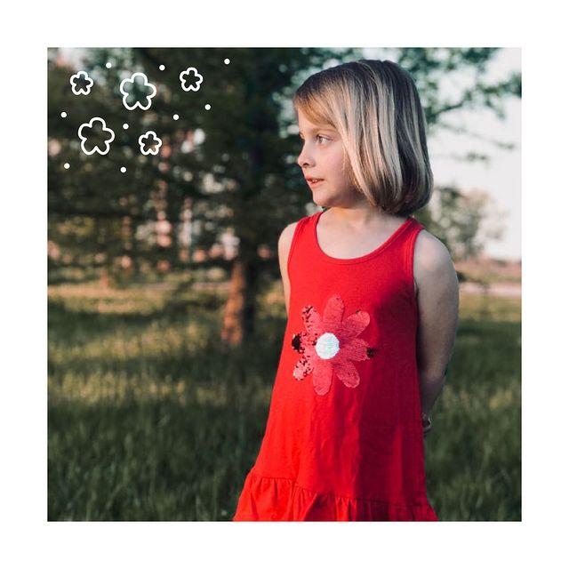 lelefantino vestido rojo nina navidad ano nuevo 2020