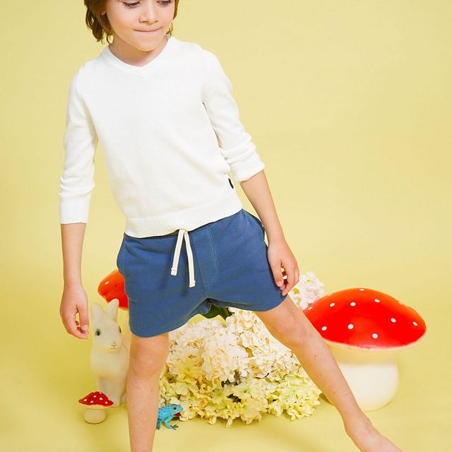 short y camiseta nino little akiabara