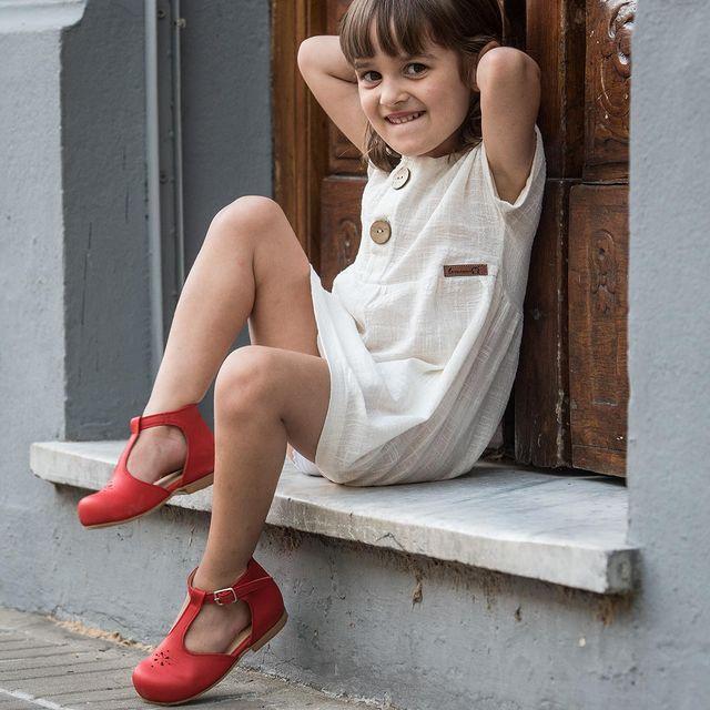 vestido algodon nena navidad ano nuevo 2020