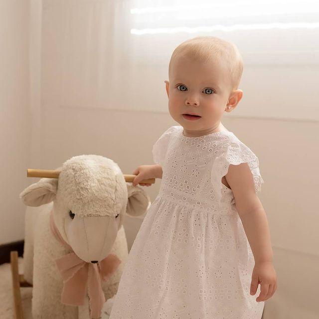 vestido blanco beba magdalena esposito navidad ano nuevo 2020