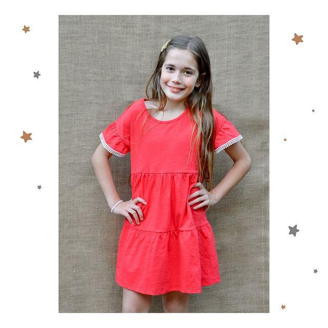 vestido rojo nena