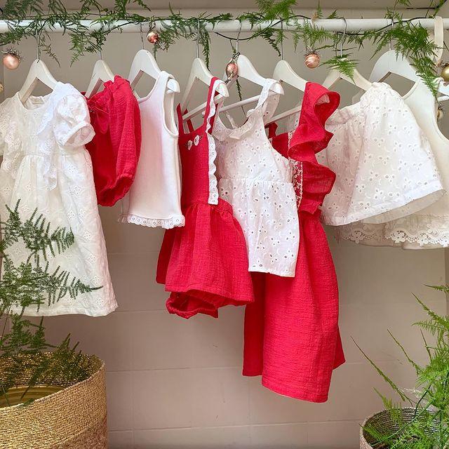 vestidos blusas y faldas ninas Gro web navidad ano nuevo 2020