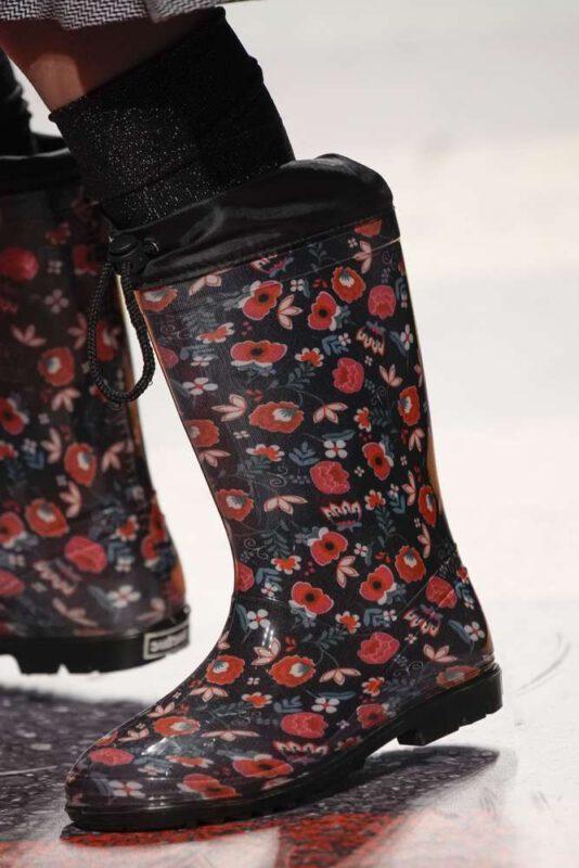botas de lluvia estampadas para ninas invierno 2021