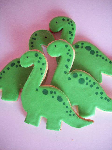 galletas decoradas de dinosaurios