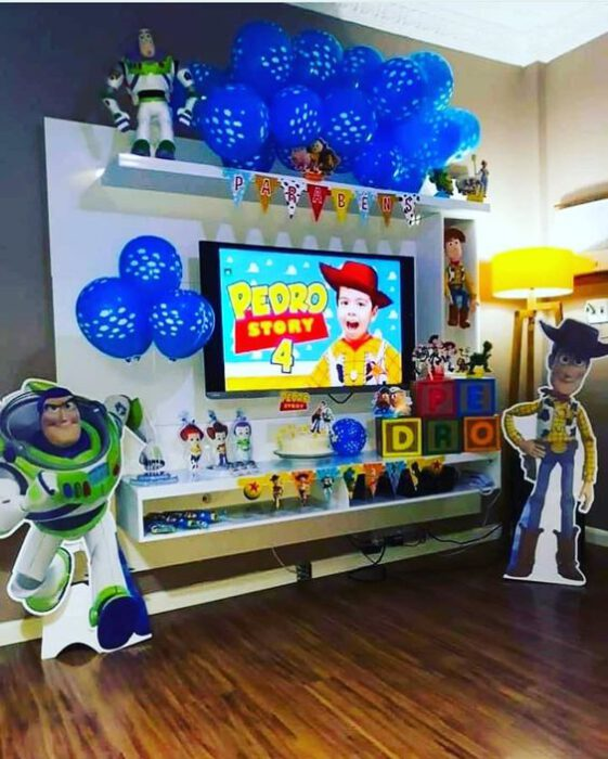ideas para un cumple virtual toy story
