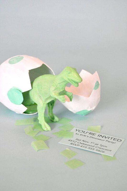 invitacion original cumple dinosaurio