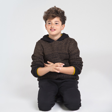 mix hooded jumper for boy id 10 07318 019 390 1