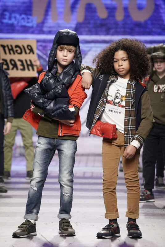 pantalones de corderoy y jeans para ninos invierno 2021