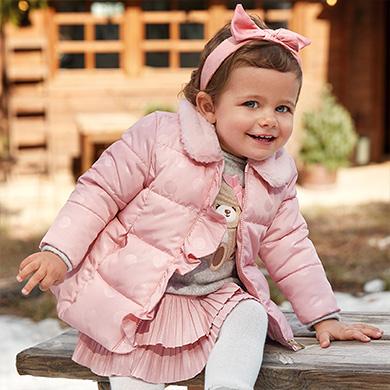polka dot coat for baby girl id 10 02410 053 390 1