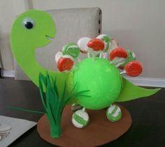 porta chupetines de dinosaurios